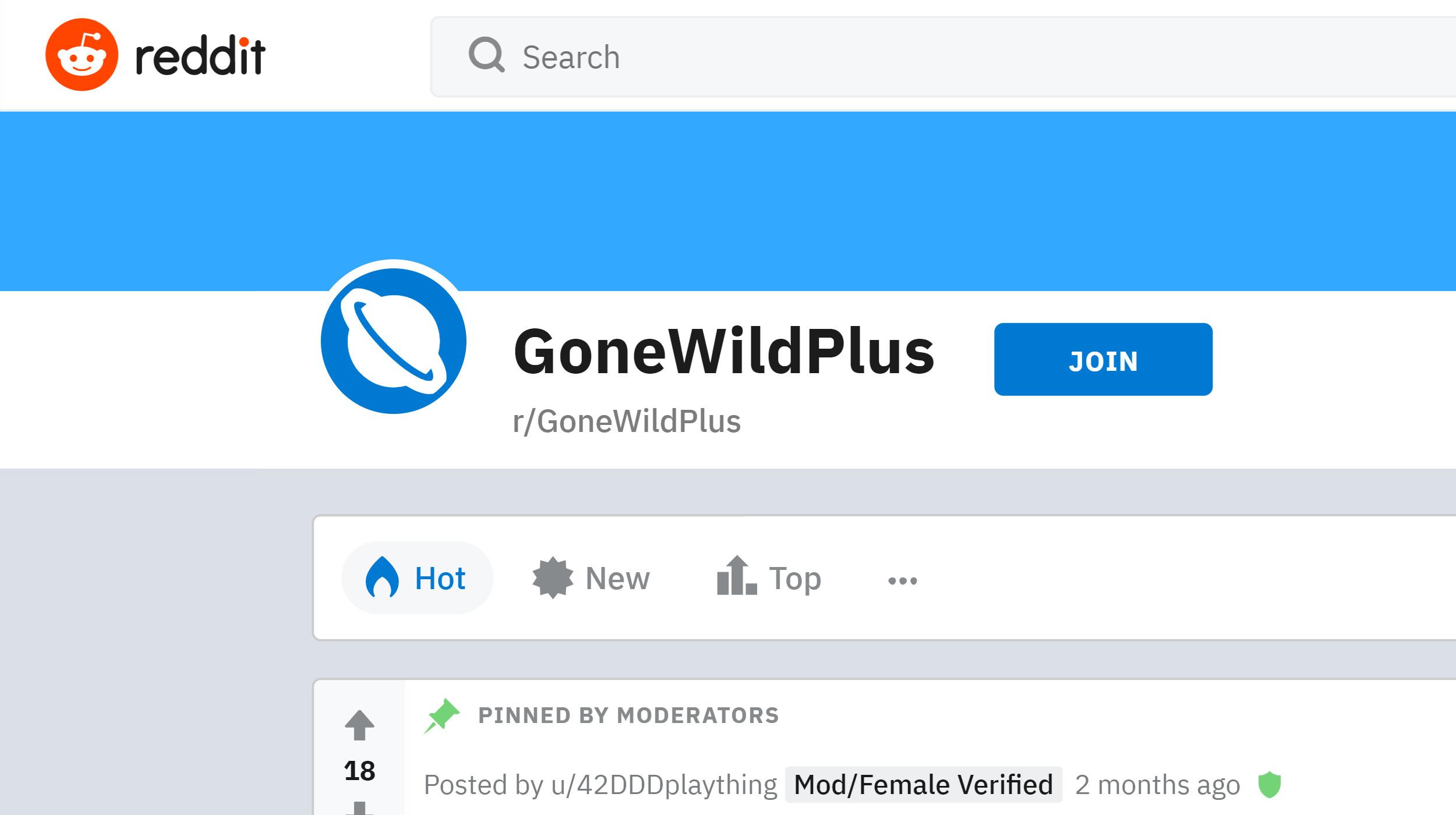Gone Wild Plus