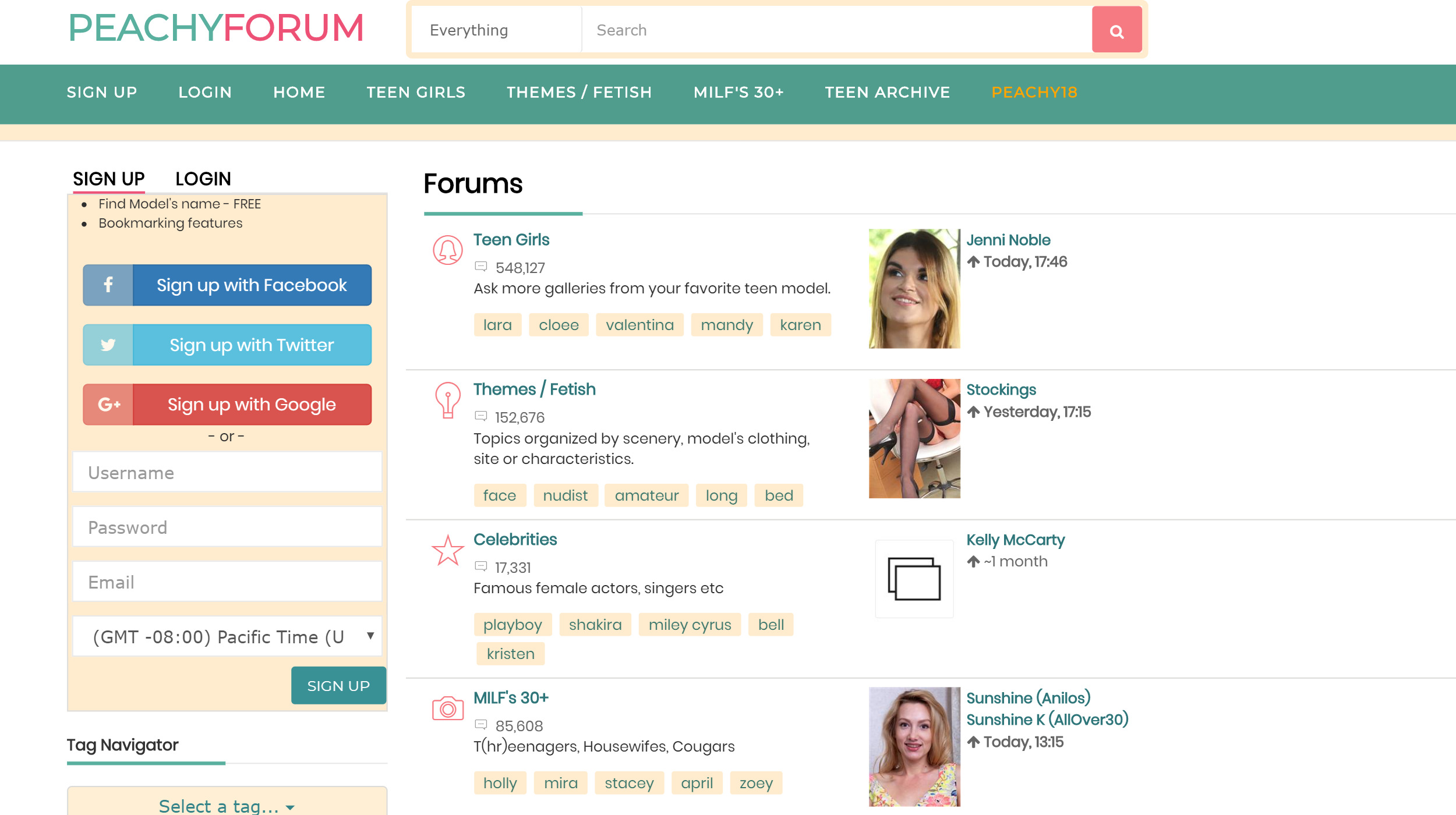 Peachy Forum