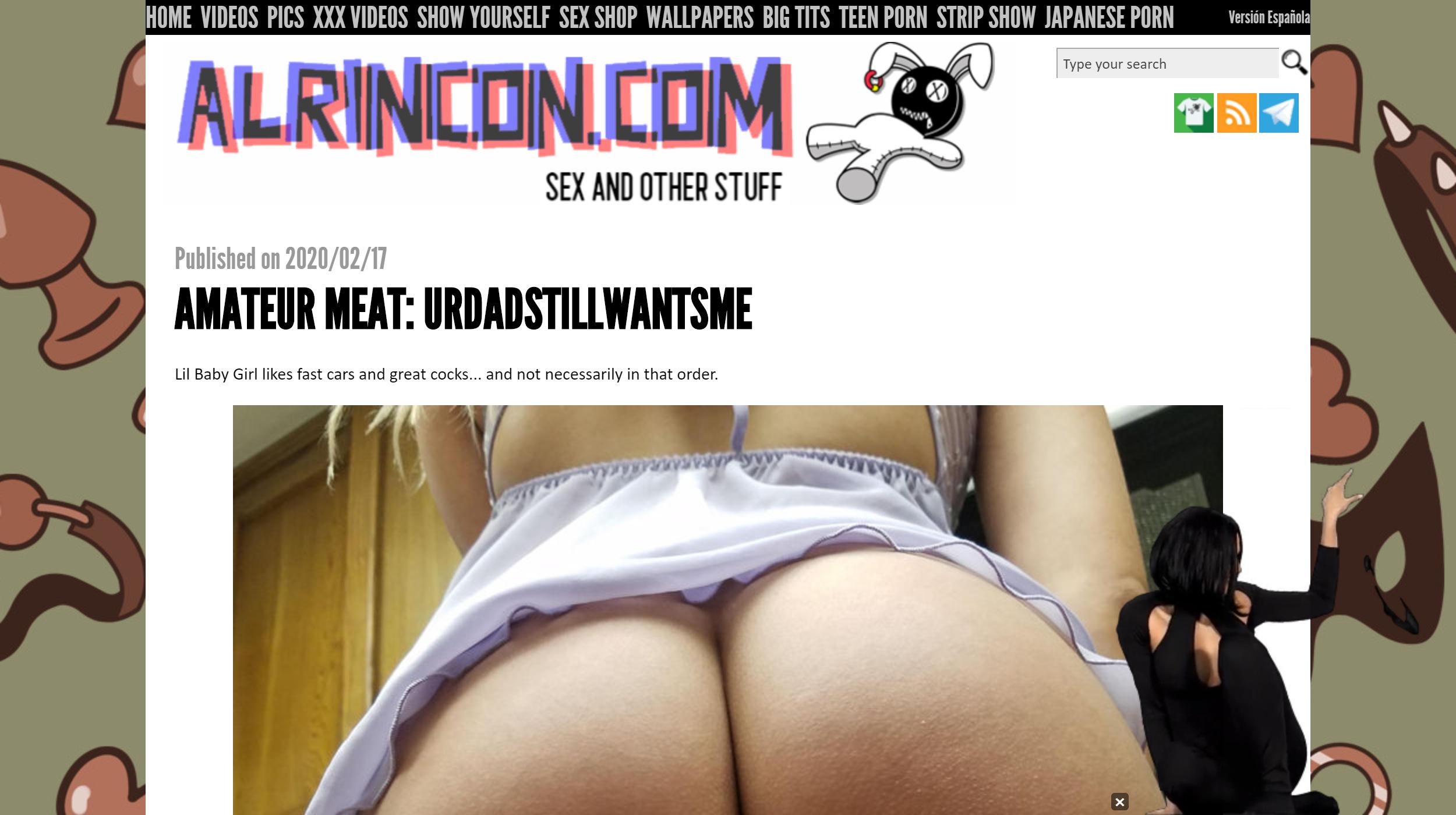 Al Rincon Porno alrincon porn blog