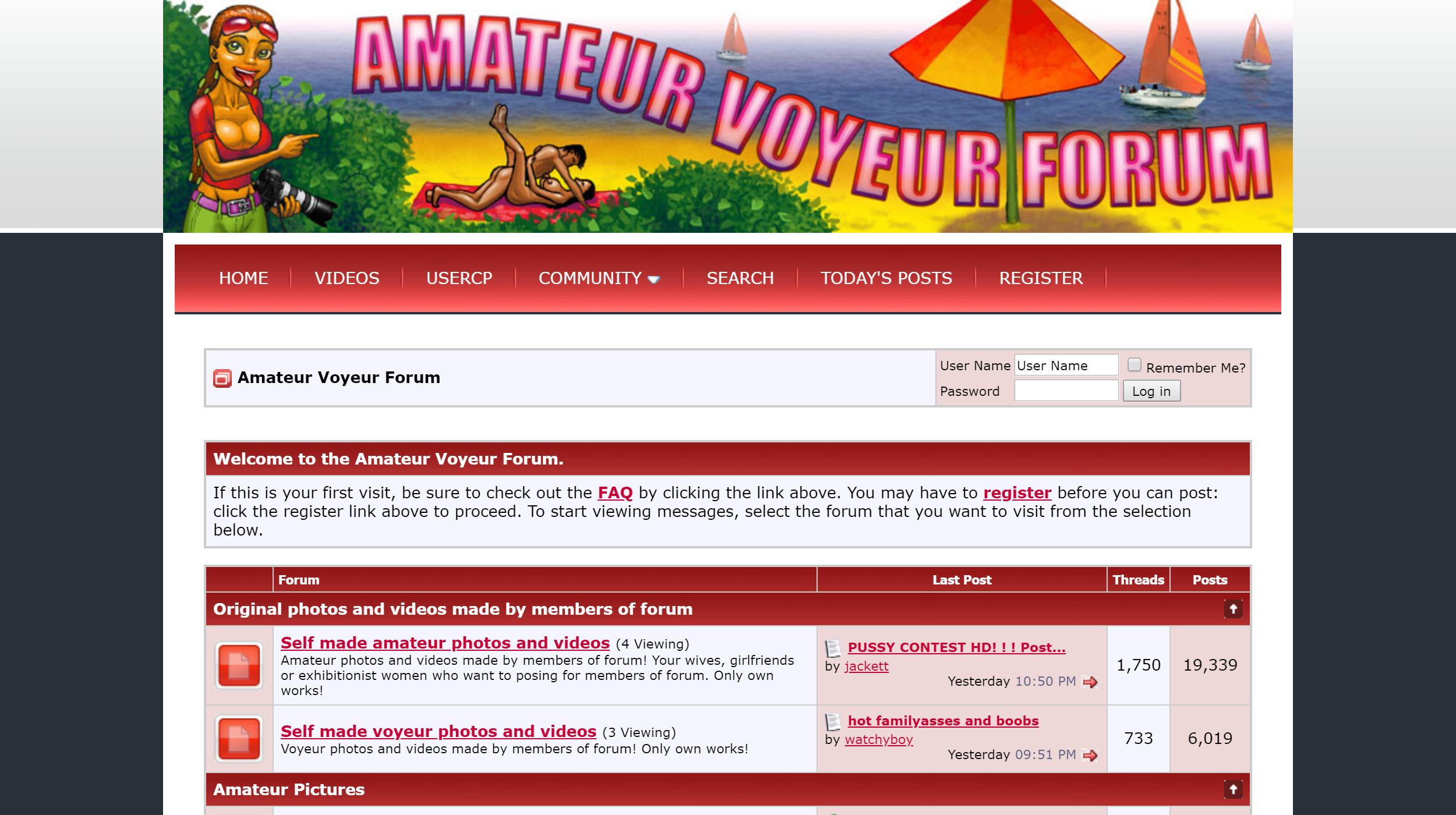 Amateur Voyeur Forum
